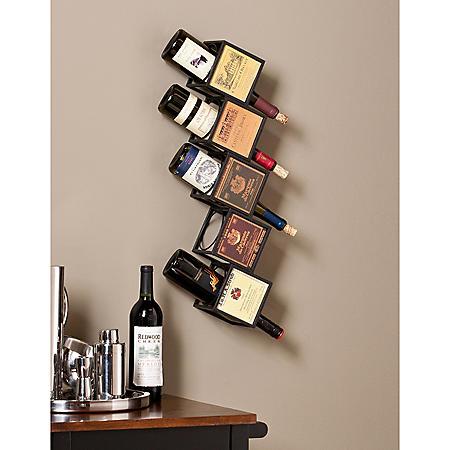 Carmen Wall Mount Wine Rack