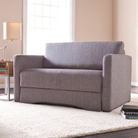 Carlyle Gray Loveseat Sleeper Sam S Club