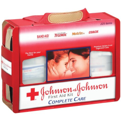 Johnson & Johnson® First Aid Kit - 225 items