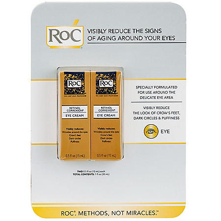 RoC Retinol Correxion Anti-Aging Eye Cream Treatment (0.5 fl. oz., 2 pk.)