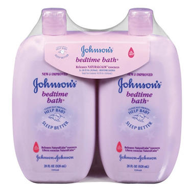 Johnson's Bedtime Bath - 28 fl. oz. - 2 pk.