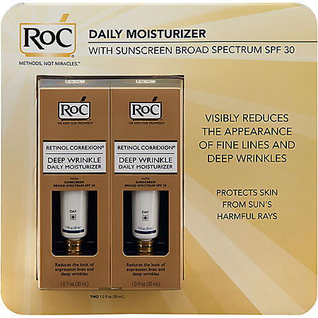 RoC Retinol Correction Deep Wrinkle, Day or Night  (1 fl. oz., 2 pk.)