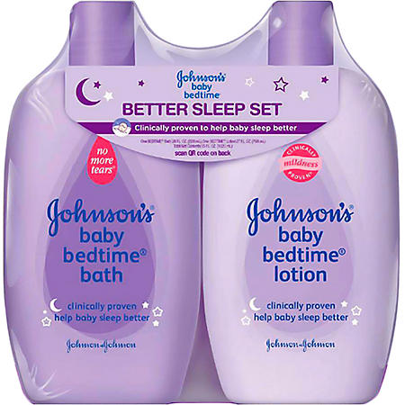 Johnson's Bedtime Sleep Set - 2 pk.