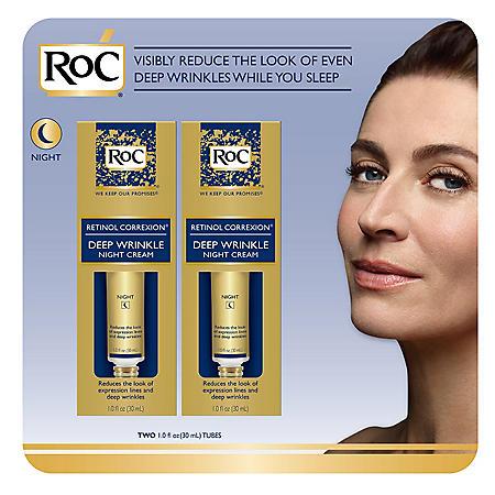RoC Deep Wrinkle Night Cream (1 fl. oz., 2 pk.)