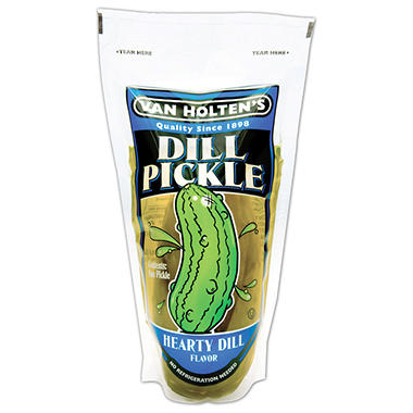 Van Holte Mild Dill Pickles - 12 ct.
