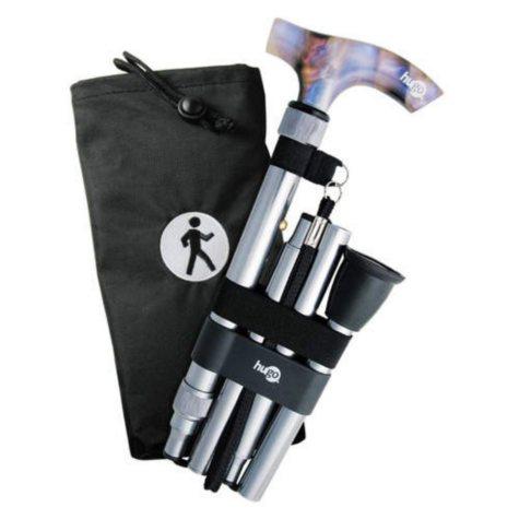 Hugo® Premium Folding Cane - Various Colors