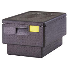 Cambro EPP180S Cam GoBox Stackable 45.4 qt. Top Loader Pan Carrier