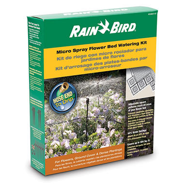 Rain Bird Flower Bed Water Kit