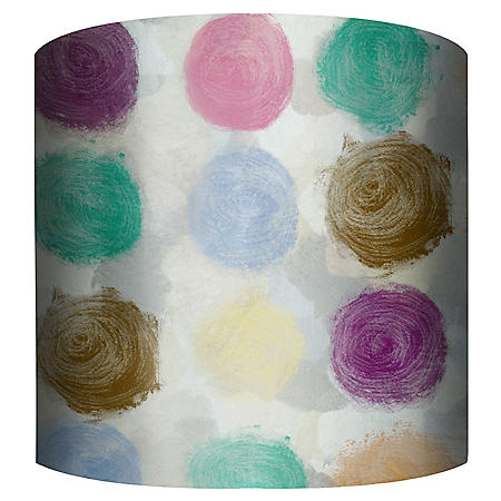 10 COLOR DOTS LAMPSHADE