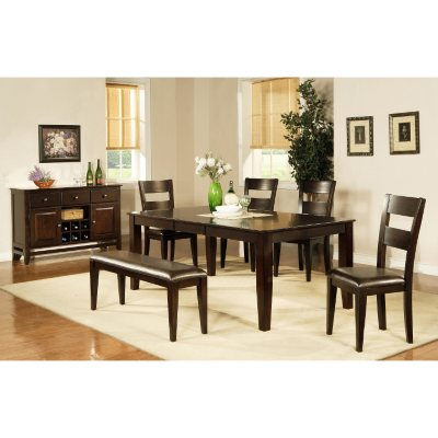 Weston Set - 6 pc.  sc 1 st  Samu0027s Club & Dining Tables u0026 Sets - Samu0027s Club
