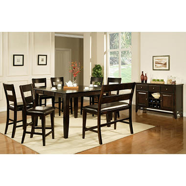 High Quality Weston Counter Height 5 Piece Set By Lauren Wells   Espresso