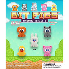 "1"" Bit Fig - Animals (250 ct.)"