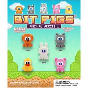 Pixel Animal Figurines (250 ct.)