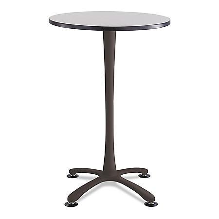 """Safco Cha-Cha 42"""" x 30"""" Bistro Hospitality Table, Select Color"""