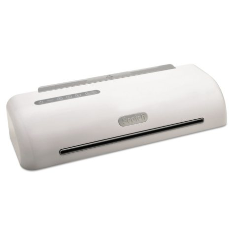 """Scotch Pro 12 1/2"""" Thermal Laminator Value Pack, Includes 50 Letter Size Laminating Pouches"""
