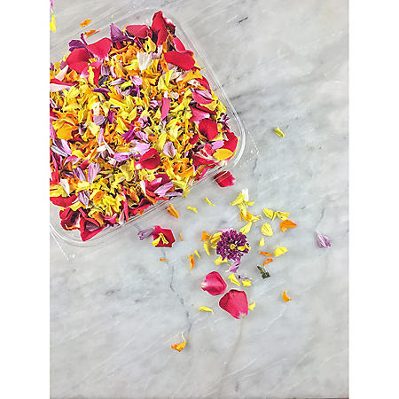 Edible Confetti Flower Petal Blossoms (50 ct.)