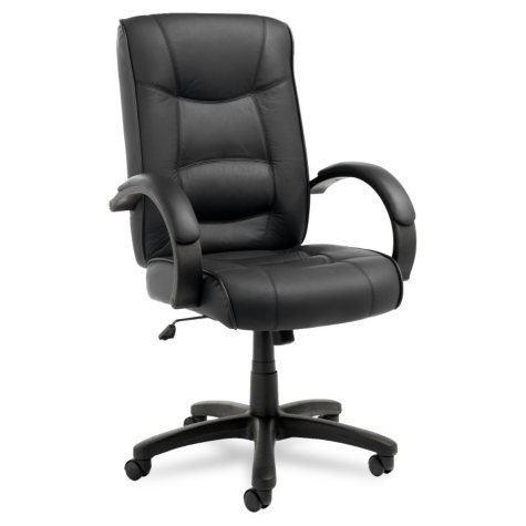Alera Strada Series High-Back Swivel/Tilt Chair, Select Color