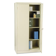 "Tennsco 72"" 4-Shelf Storage Cabinet, Select Color"