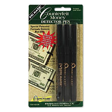 Dri Mark Counterfeit Bill Detector Pen - 3 pk.