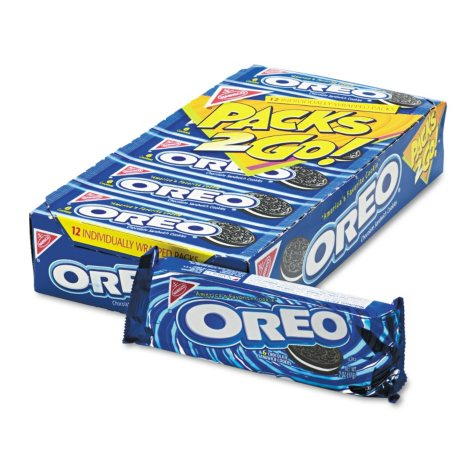 Nabisco Oreo Cookies - 6 cookie per pack - 12 pk. box