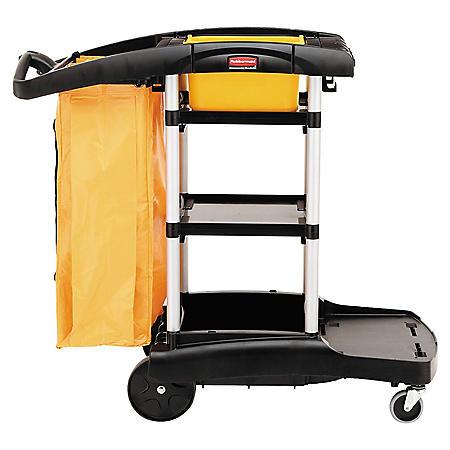 Rubbermaid High Capacity Janitor Cart