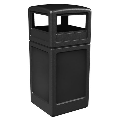 Commercial Zone Square Waste Container with Dome Lid (Choose Your Color)