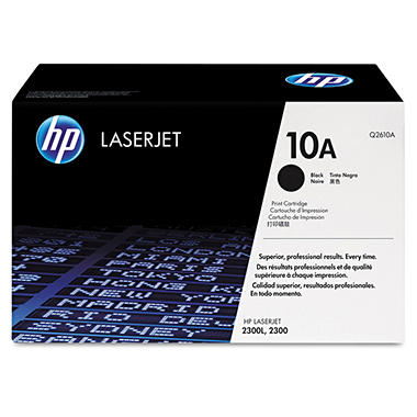 HP 10A Original Laser Jet Toner Cartridge, Black (6,000 Page Yield)