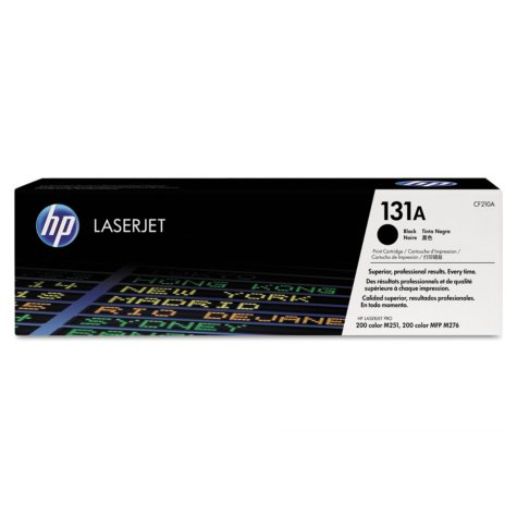 HP 131 Original Laser Jet Toner Cartridge, Select Color/Type
