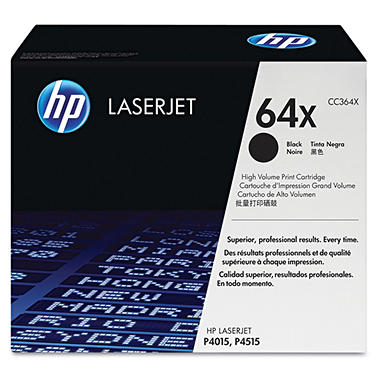 HP 64 Original Laser Jet Toner Cartridge, Black (24,000 Page Yield)