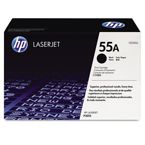 HP 55 Original Laser Jet Toner Cartridge, Black, Select Type