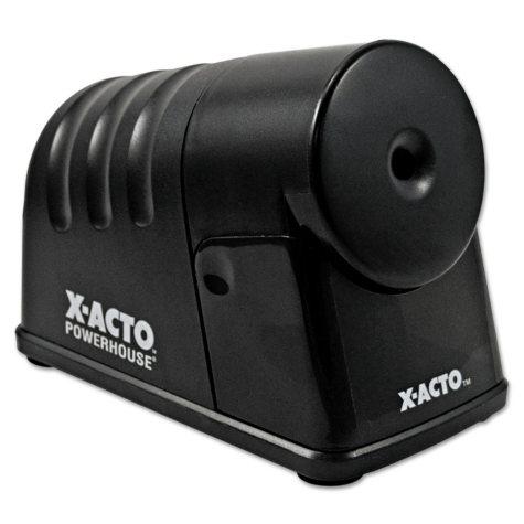 X-ACTO - PowerHouse Desktop Electric Pencil Sharpener - Black