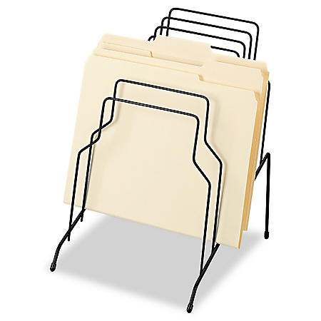 Fellowes - Wire Step File, 8 Comp, Steel, 10 1/8 x 12 1/8 x 11 3/16 -  Black