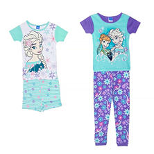 Boy or Girl Character 2-Piece Cotton Pajama Sets