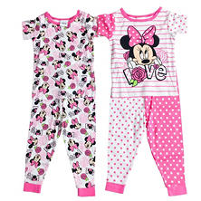 Assorted Licensed Girls' 2 For 1 Pajama Set