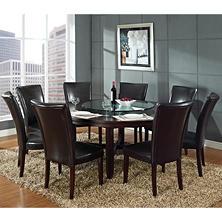 Dining Tables  Sets Sams Club - 9 piece dining room sets