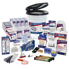 Ultimate Deluxe Home Survival Kit (4 Person/3 Day Supply)