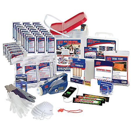 ER Home/Office/Worksite Survival Kit (5 person, 3 day supply)