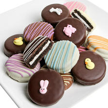 Easter Belgian Chocolate-Covered Oreo Cookies (12 pc.)
