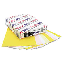 Xerox - Premium Digital Carbonless Paper, 8-1/2 x11, White/Canary/Pink/Goldenrod - 1250 Sets