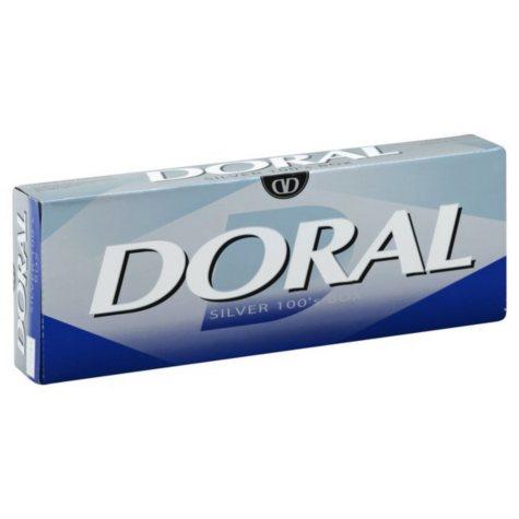 Doral Silver 100s Box (20 ct., 10 pk.)