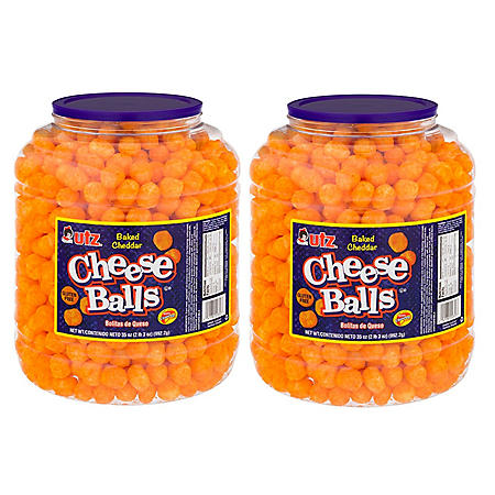 Utz Cheese Ball Barrels 35 oz. (2 pk.)