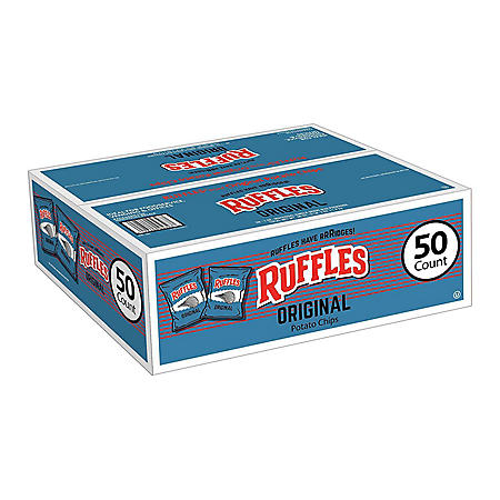 Ruffles Original Potato Chips (1 oz., 50 ct.)