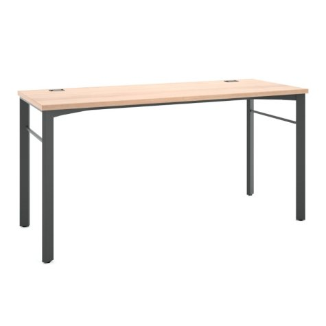 "basyx Manage Series 60"" Desk, Wheat"