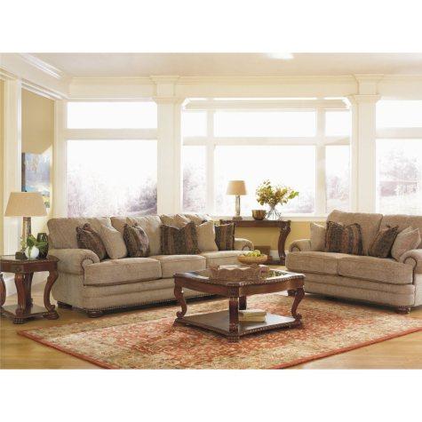Lane Furniture Jackson Fabric Sofa & Loveseat Collection