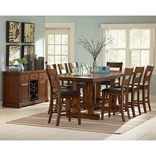 Good Ziva Counter Height Dining Set   10 Pc