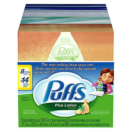 Puffs® Plus Lotion