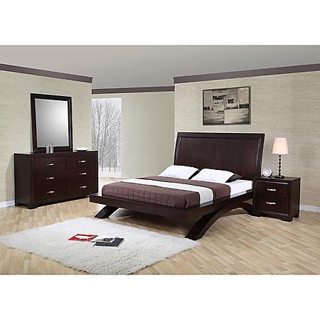 Zoe Bedroom Set (Choose Size)