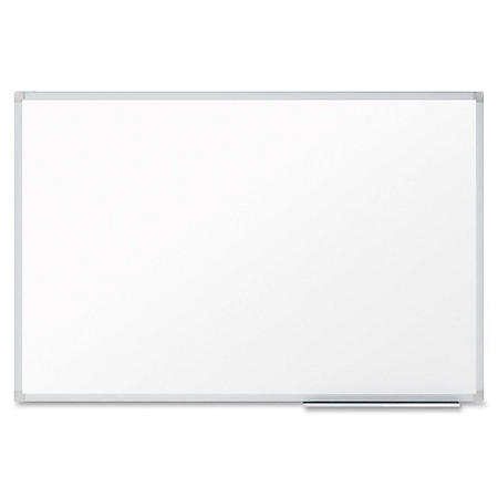 "Mead Dry-Erase Board, 48"" x 36"", Aluminum Frame"