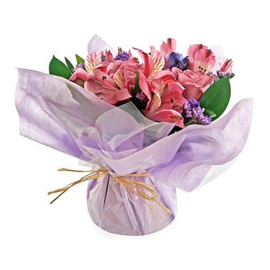 Mini Arrangement, Elegant Purple Roses (5 arrangements)