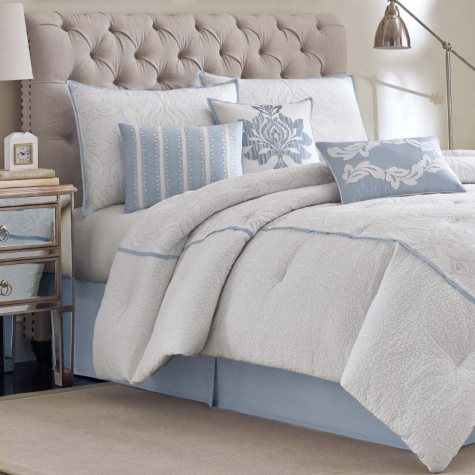 Stratford 7-Piece Comforter Set - Various Size and Colors